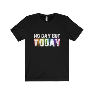 No Day But Today (Rent) - Unisex Jersey Short Sleeve Tee Black / Xs T-Shirt