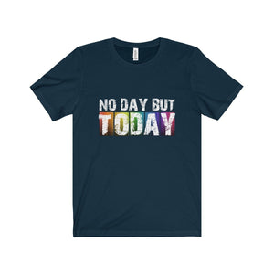 No Day But Today (Rent) - Unisex Jersey Short Sleeve Tee Navy / Xs T-Shirt