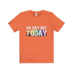 No Day But Today (Rent) - Unisex Jersey Short Sleeve Tee Orange / Xs T-Shirt