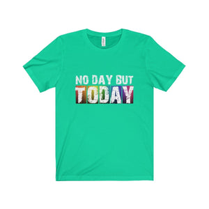 No Day But Today (Rent) - Unisex Jersey Short Sleeve Tee Teal / Xs T-Shirt