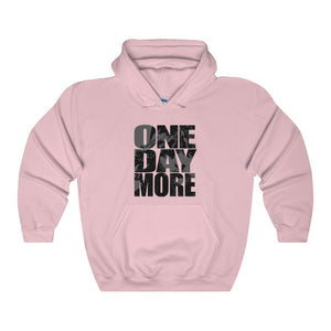 One Day More - Unisex Heavy Blend Hooded Sweatshirt Light Pink / S Men Women Hoodie