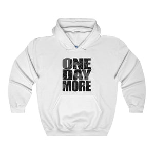 One Day More - Unisex Heavy Blend Hooded Sweatshirt White / S Men Women Hoodie
