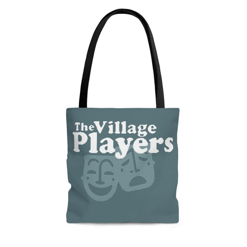 Organization (BVP) - The Birmingham Village Players Logo Tote Bag Large Bags