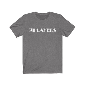 Organization (JPLAY) - The J Players Large Logo Dark Unisex Jersey Short Sleeve Tee Deep Heather / XS Men Women T-Shirt