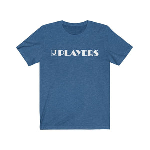 Organization (JPLAY) - The J Players Large Logo Dark Unisex Jersey Short Sleeve Tee Heather True Royal / XS Men Women T-Shirt