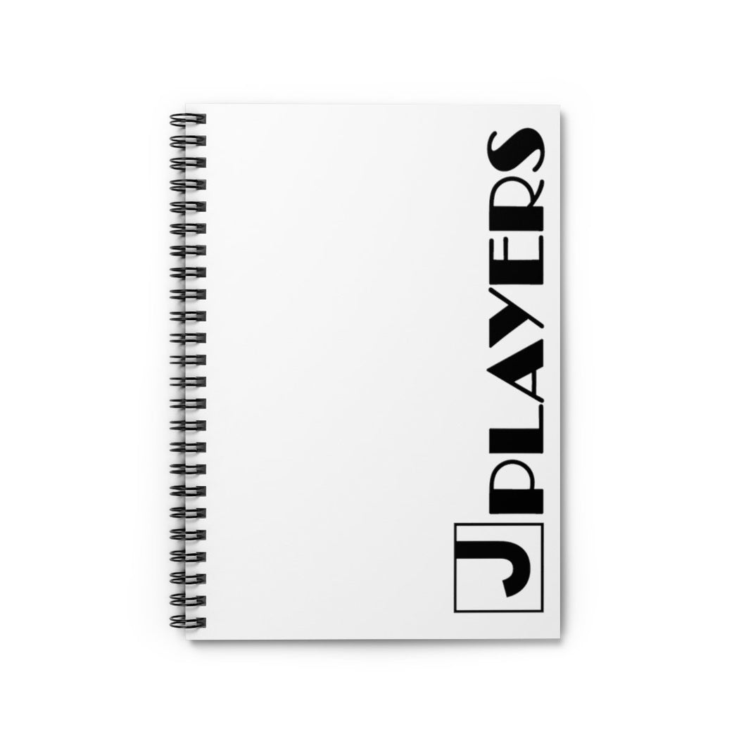 Organization (JPLAY) - The J Players Ruled Line Spiral Notebook Spiral Notebook Paper products