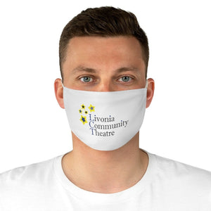 Organization (LCT) - Livonia Community Theatre Fabric Face Mask