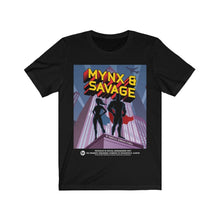 "Organization (LCT) - Livonia Community Theatre ""Minx & Savage"" Full Design Unisex Jersey Short Sleeve Tee"