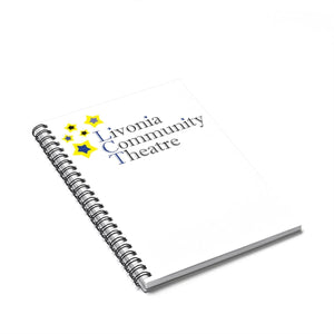 Organization (LCT) - Livonia Community Theatre Ruled Line Spiral Notebook Paper products