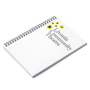 Organization (LCT) - Livonia Community Theatre Ruled Line Spiral Notebook Spiral Notebook Paper products