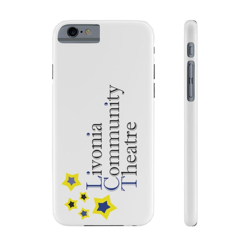 Organization (LCT) - Livonia Community Theatre Slim Phone Cases iPhone 6/6S Slim Phone Case