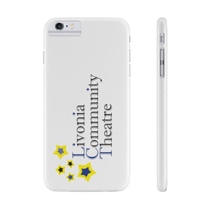 Organization (LCT) - Livonia Community Theatre Slim Phone Cases iPhone 6/6s Plus Slim Phone Case