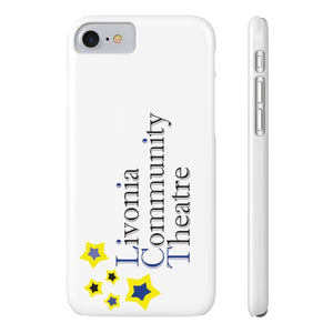 Organization (LCT) - Livonia Community Theatre Slim Phone Cases iPhone 7 iPhone 8 Slim Phone Case