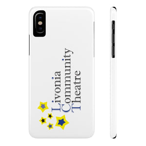 Organization (LCT) - Livonia Community Theatre Slim Phone Cases iPhone X Slim Phone Case