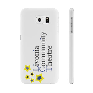 Organization (LCT) - Livonia Community Theatre Slim Phone Cases Samsung Galaxy S6 Slim Phone Case