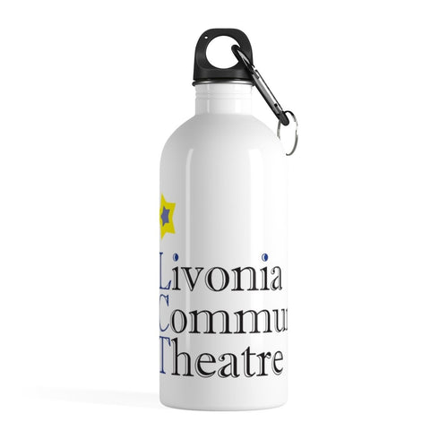 Organization (LCT) - Livonia Community Theatre Stainless Steel Water Bottle 14oz Mug