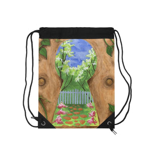 Organization (LCT) - Livonia Community Theatre The Secret Garden Drawstring Bag Bags