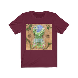 Organization (LCT) - Livonia Community Theatre The Secret Garden Unisex Jersey Short Sleeve Tee Maroon / XS Men Women T-Shirt