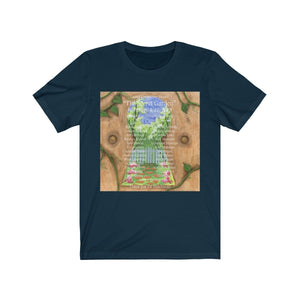 Organization (LCT) - Livonia Community Theatre The Secret Garden Unisex Jersey Short Sleeve Tee Navy / XS Men Women T-Shirt