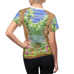 Organization (LCT) - Livonia Community Theatre The Secret Garden Womens Tee Women All Over Prints