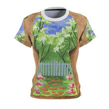 Organization (LCT) - Livonia Community Theatre The Secret Garden Womens Tee XS / Black Seams / 4 oz. Women All Over Prints
