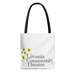 Organization (LCT) - Livonia Community Theatre Tote Bag Bags