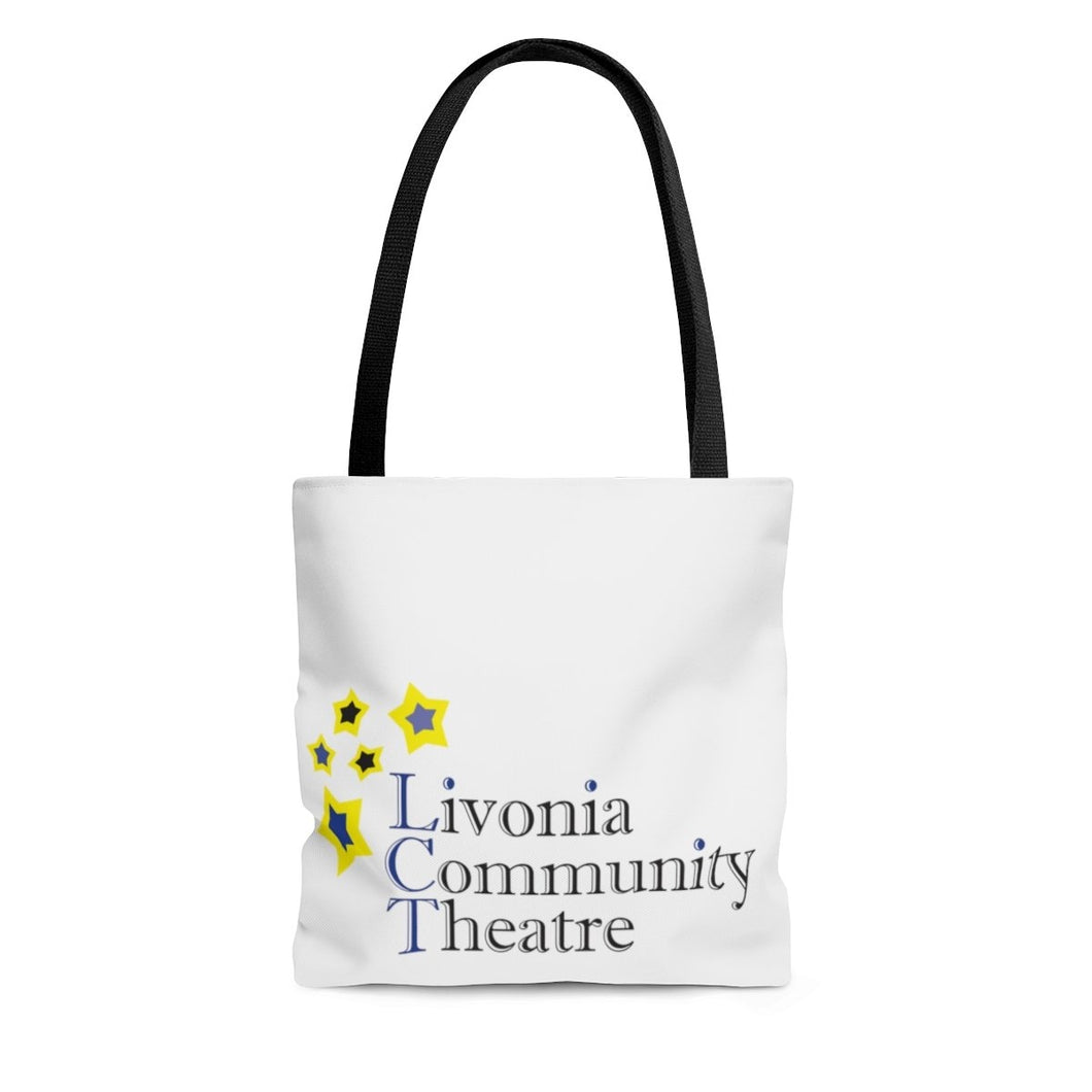 Organization (LCT) - Livonia Community Theatre Tote Bag Large Bags