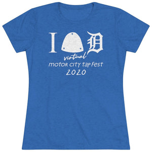 Organization (MCTF) - Motor City Tap Fest 2020 Big Tap Women's Triblend Tee