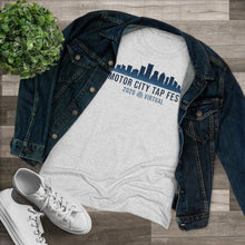 Organization (MCTF) - Motor City Tap Fest 2020 Skyline Women's Triblend Tee