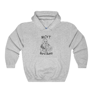 "Organization (MCYT) - ""Bard Bums"" - Unisex Heavy Blend Hooded Sweatshirt - Theatre Geek Shirts & Apparel"