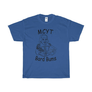 "Organization (MCYT) - ""Bard Bums"" - Unisex Heavy Cotton Tee - Theatre Geek Shirts & Apparel"