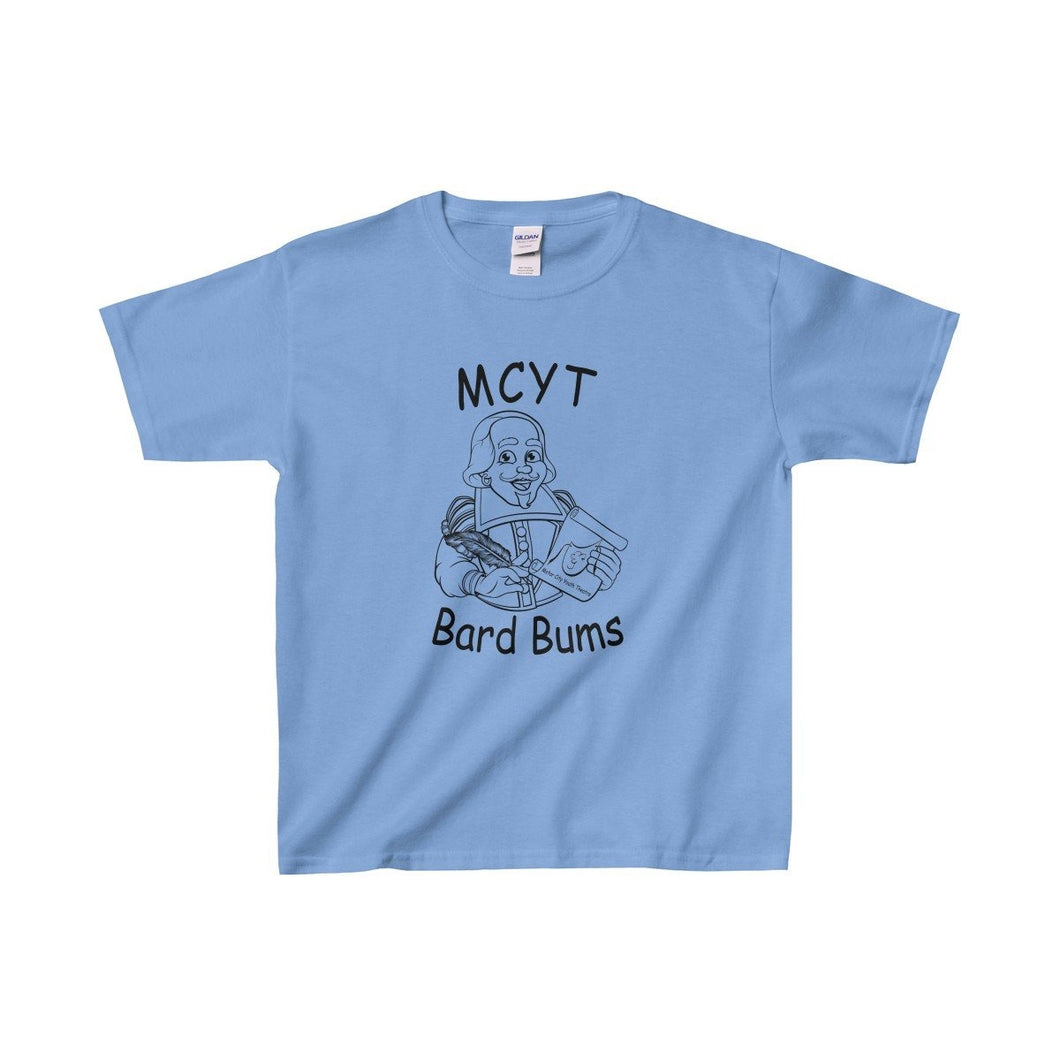 Organization (Mcyt) - Bard Bums With Shows - Youth Heavy Cotton Tee Carolina Blue / Xs Kids Clothes