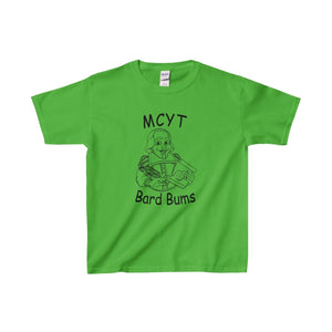Organization (Mcyt) - Bard Bums With Shows - Youth Heavy Cotton Tee Electric Green / Xs Kids Clothes