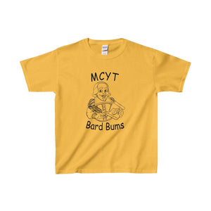 Organization (Mcyt) - Bard Bums With Shows - Youth Heavy Cotton Tee Gold / Xs Kids Clothes