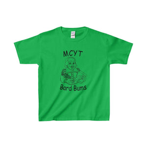 Organization (Mcyt) - Bard Bums With Shows - Youth Heavy Cotton Tee Irish Green / Xs Kids Clothes