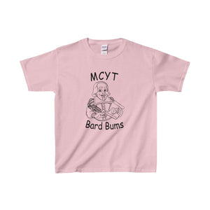 Organization (Mcyt) - Bard Bums With Shows - Youth Heavy Cotton Tee Light Pink / Xs Kids Clothes