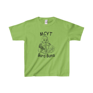 Organization (Mcyt) - Bard Bums With Shows - Youth Heavy Cotton Tee Lime / Xs Kids Clothes