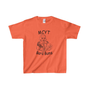 Organization (Mcyt) - Bard Bums With Shows - Youth Heavy Cotton Tee Orange / Xs Kids Clothes