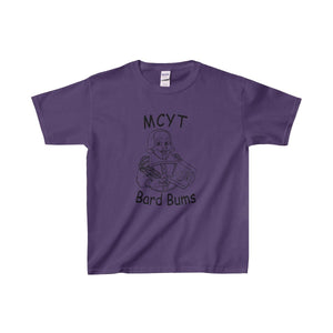 Organization (Mcyt) - Bard Bums With Shows - Youth Heavy Cotton Tee Purple / Xs Kids Clothes