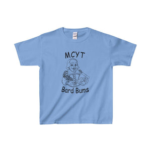Organization (Mcyt) - Bard Bums - Youth Heavy Cotton Tee Carolina Blue / Xs Kids Clothes