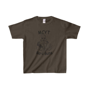 Organization (Mcyt) - Bard Bums - Youth Heavy Cotton Tee Dark Chocolate / Xs Kids Clothes