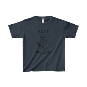 Organization (Mcyt) - Bard Bums - Youth Heavy Cotton Tee Navy / Xs Kids Clothes