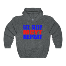 Organization (Mcyt) - Eat Sleep Mcyt Repeat - Unisex Heavy Blend Hooded Sweatshirt Dark Heather / S Hoodie