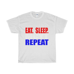 Organization (Mcyt) - Eat Sleep Mcyt Repeat - Unisex Heavy Cotton Tee White / S T-Shirt
