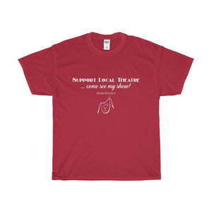Organization (Mcyt) - Support Local Theatre - Unisex Heavy Cotton Tee Cardinal Red / S Men Women T-Shirt
