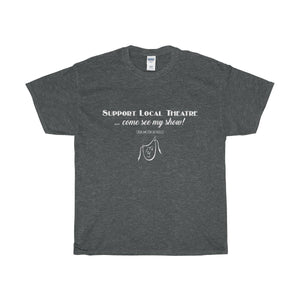 Organization (Mcyt) - Support Local Theatre - Unisex Heavy Cotton Tee Dark Heather / S Men Women T-Shirt