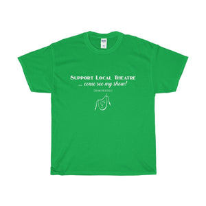 Organization (Mcyt) - Support Local Theatre - Unisex Heavy Cotton Tee Irish Green / S Men Women T-Shirt