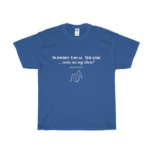 Organization (Mcyt) - Support Local Theatre - Unisex Heavy Cotton Tee Royal / S Men Women T-Shirt