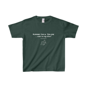 Organization (Mcyt) - Support Local Theatre - Youth Heavy Cotton Tee Forest Green / Xs Kids Clothes