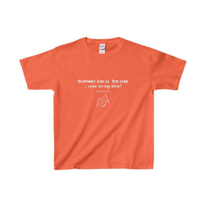 Organization (Mcyt) - Support Local Theatre - Youth Heavy Cotton Tee Orange / Xs Kids Clothes